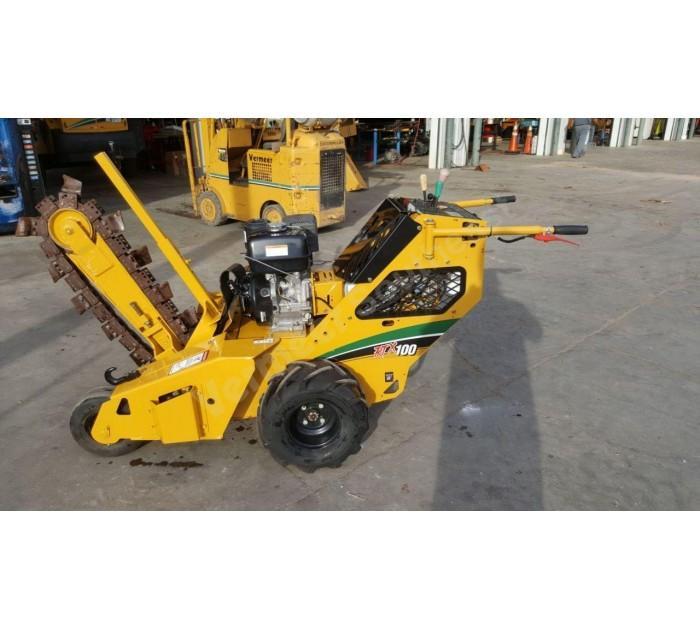Vermeer RTX 100 Trencher